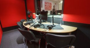 TV and radio studio